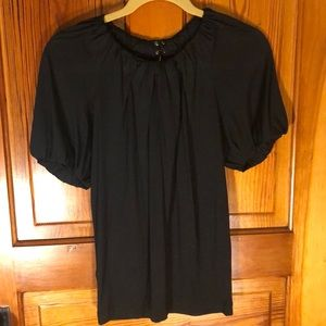Like new banana republic silk top XS XSmall black